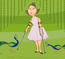 FLANNERY O'CONNOR by norncutson