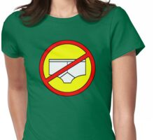No Knickers T! Womens Fitted T-Shirt