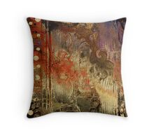 Gold Coins Rising Throw Pillow