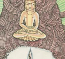 Yogiraja Shiva Sticker