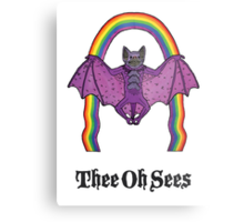 Thee Oh Sees  Metal Print