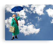 Mary Poppins Scarecrow Canvas Print