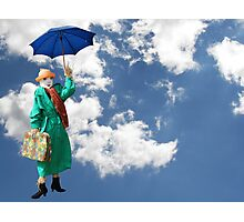 Mary Poppins Scarecrow Photographic Print