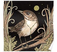The Jeweled Nightingale Poster