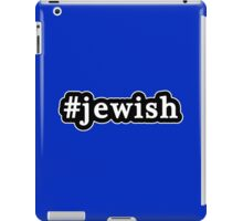 Jewish - Hashtag - Black & White iPad Case/Skin