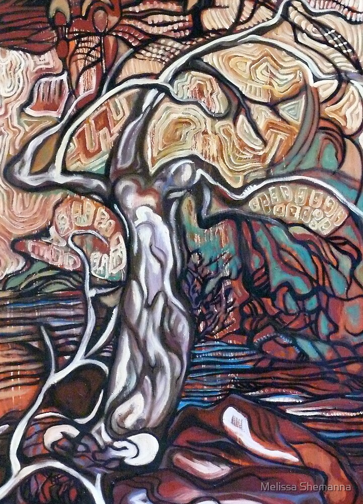 Spirit Tree by Melissa Shemanna