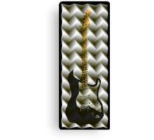 guitar folds Canvas Print
