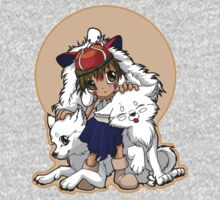 Princess Mononoke One Piece - Short Sleeve