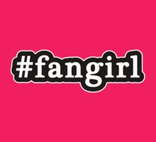 Fangirl - Hashtag - Black & White by graphix