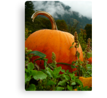 Halloween Approaches Canvas Print