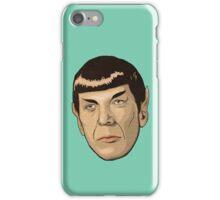 floating Spock head iPhone Case/Skin