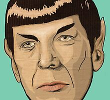 floating Spock head by MimiPaulusma