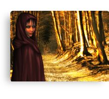 Red Riding Hood - Rose & Hans Kawitzki Canvas Print
