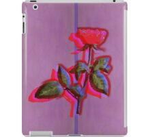 ONE RED ROSE iPad Case/Skin