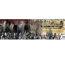 "Ist Door On Left Around Corner - ""The Wall Series"" Photographic Print"