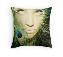 Heavenly colours... Throw Pillow