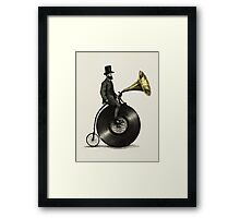 Music Man Framed Print