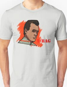 T-Bag Prison Break Sketch Large Unisex T-Shirt