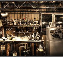 A day in the life of a kitchen  by John Adulcikas