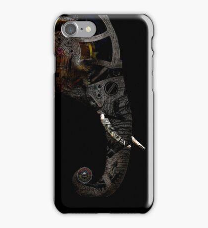 clockwork elephant  iPhone Case/Skin