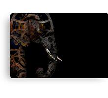 clockwork elephant  Canvas Print