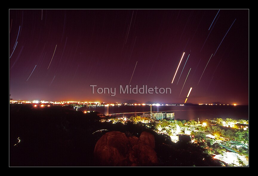 heaven is falling... (view larger) by Tony Middleton