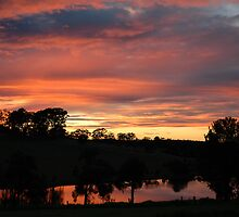 Peaceful Sunset by Nick Wormald