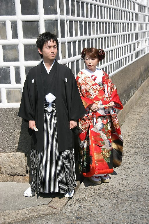 International language of love - Traditional Japanese Wedding - Kurashiki  by Trishy