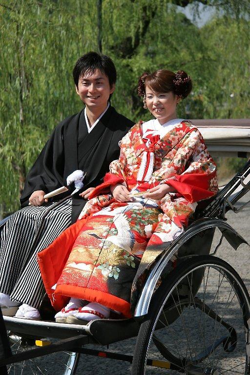 Traditional Japanese Wedding - Kurashiki  by Trishy