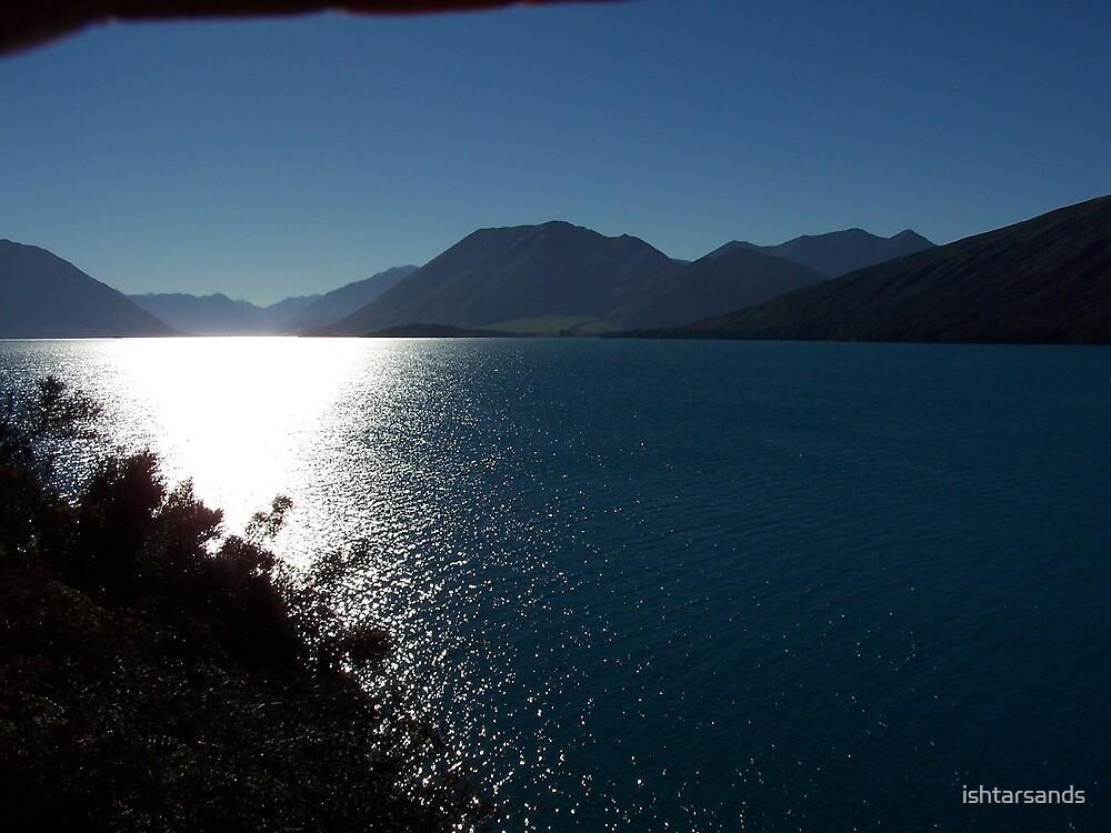 New Zealand Sunset Lake Colleridge by ishtarsands