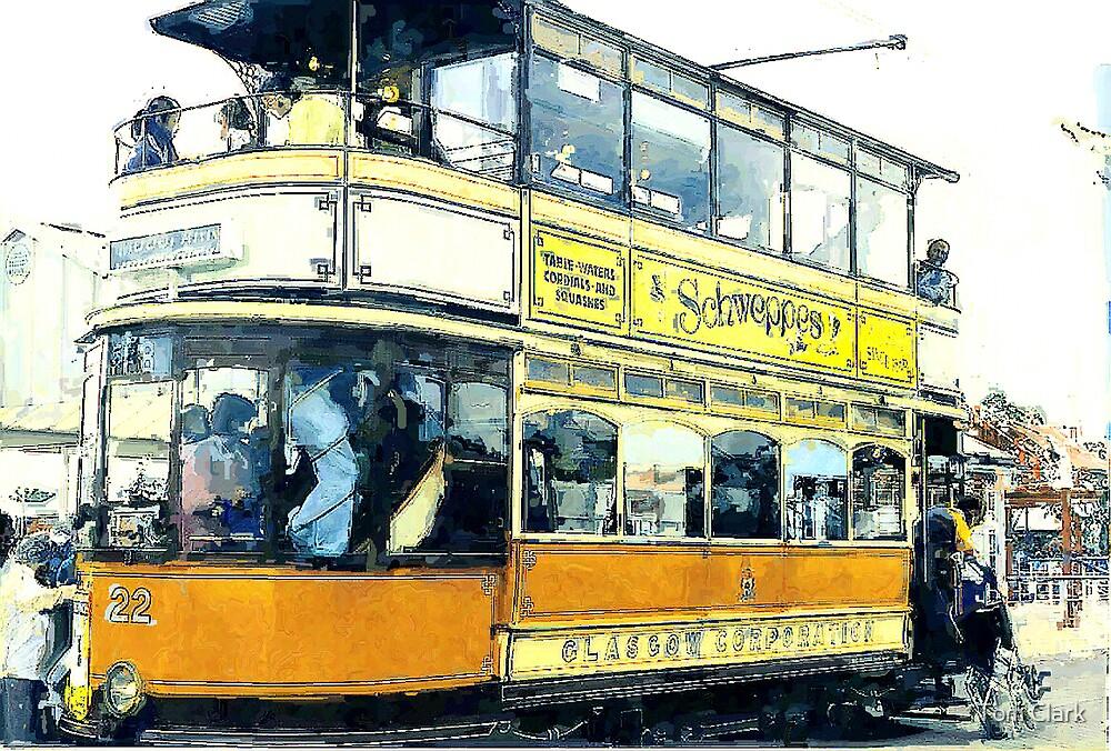 Glasgow Tram. by Tom Clark