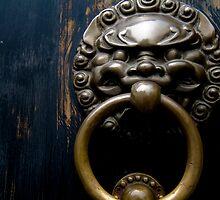Knock knock by Edward Hor