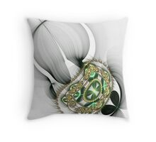 Julia's Flowers Throw Pillow