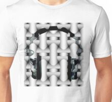 aztec headphones Unisex T-Shirt