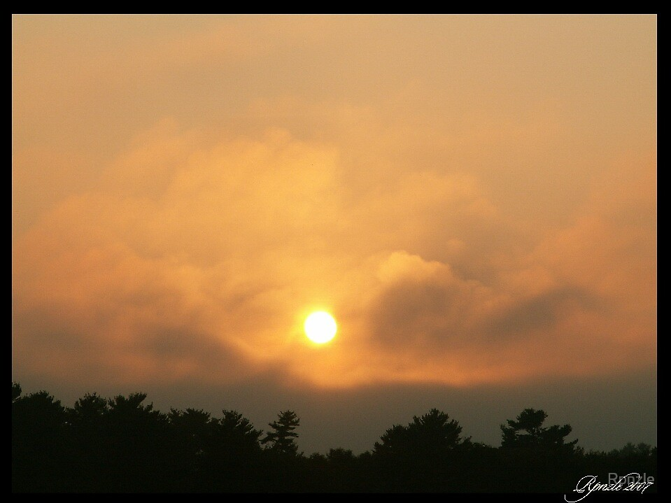 Fogg Sunset by Rpnzle