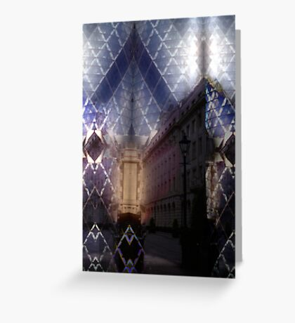 London Gherkin Greeting Card