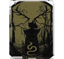 cernunnos- the pagan horned god iPad Case/Skin