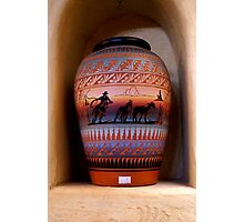 navajo pottery Photographic Print