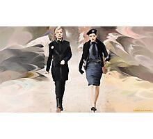 Amanda and Berlin Take Charge Photographic Print