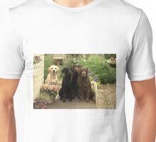 4 labradors Unisex T-Shirt
