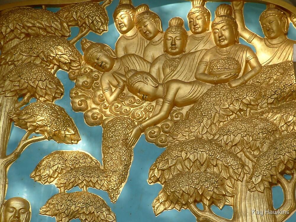 Battersea Buddha by Kay Hawkins