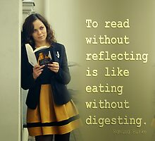 REFLECTIONS ON READING by JamesChetwald