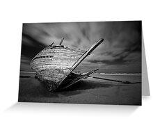 Bunbeg Shipwreck Greeting Card