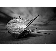 Bunbeg Shipwreck Photographic Print