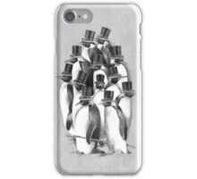 A Gathering of Gentlemen iPhone Case/Skin
