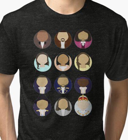 Hamilton Busts Tri-blend T-Shirt