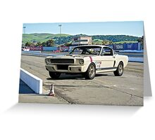 1966 Shelby Mustang G.T. 350 III Greeting Card