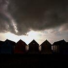 Mersea Island Beach Huts by Nigel Bangert