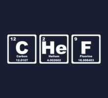 Chef - Periodic Table Kids Clothes