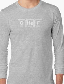 Chef - Periodic Table Long Sleeve T-Shirt